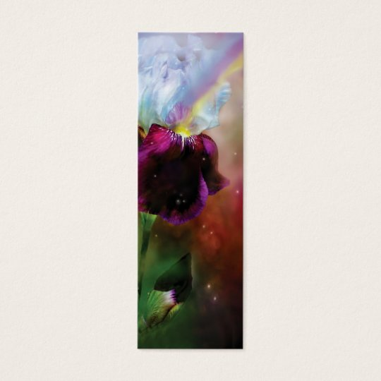Goddess Of The Rainbow Art Bookmark Mini Business Card