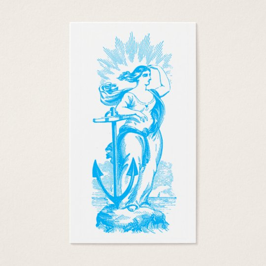 Goddess of the Sea Business Card