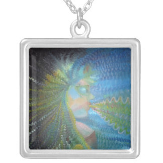 Goddess Of TheUniverse Silver Plated Necklace