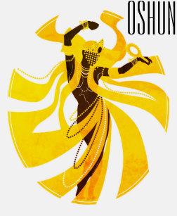 Goddess Oshun T Shirt