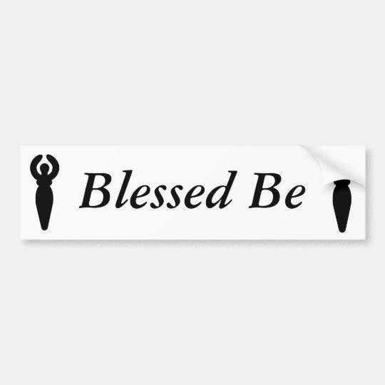 Goddess shirt pocket, Goddess shirt pocket, Ble... Bumper Sticker