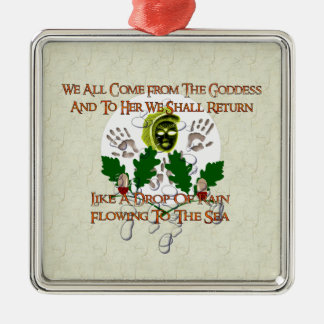 Goddess Song Christmas Ornament