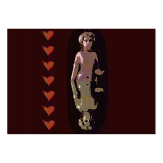 Goddess With Hearts Pack Of Chubby Business Cards
