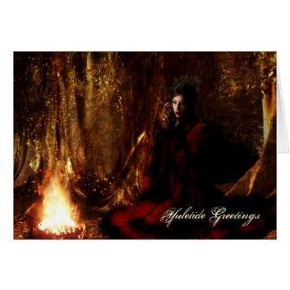 Goddess Yuletide Greetings Greeting Card