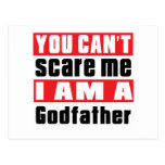 Godfather scare designs postcard
