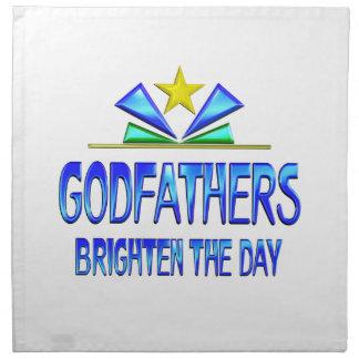 Godfathers Brighten the Day Napkin