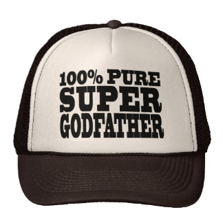 Godfathers Gifts : 100% Pure Super Godfather Cap