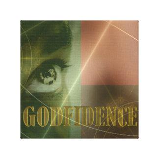 GODfidence Pan-African Canvas Print 12x12