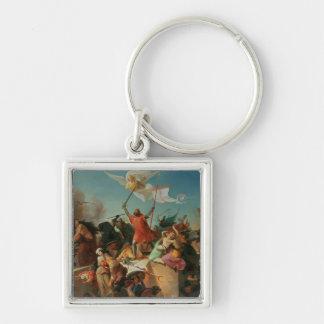 Godfrey de Bouillon French Crusader Key Chain