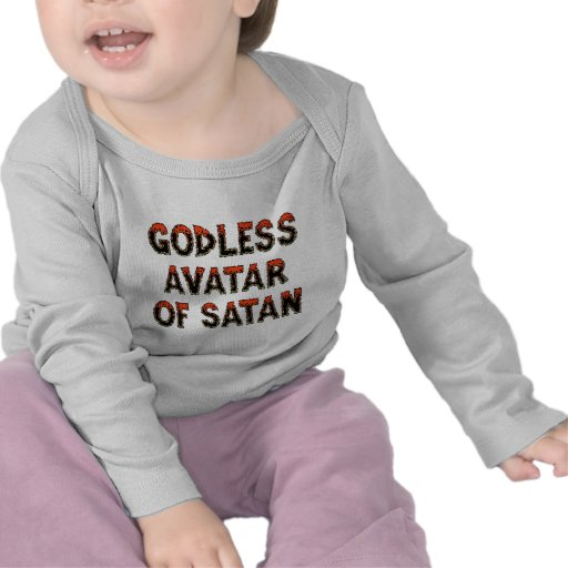 Godless Avatar of Satan Tee Shirt