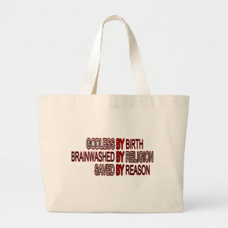 Godless by Birth Canvas Bag