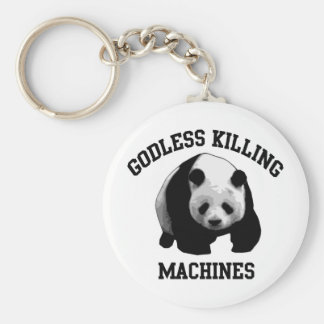 Godless Killing Machines Key Ring