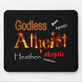 Godless Words Mouse Pad