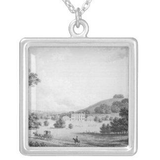 Godmersham Kent Park Square Pendant Necklace