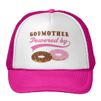 Godmother Gift (Donuts) Mesh Hat