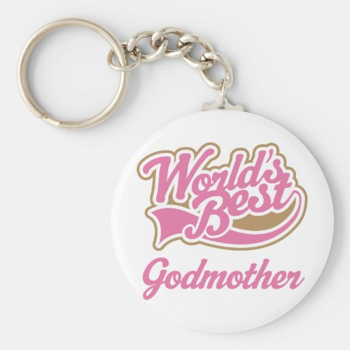 Godmother Gift Keychains