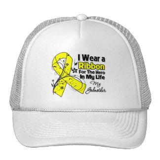 Godmother Hero in My Life Sarcoma Awareness Cap