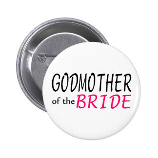 Godmother Of The Bride Pin