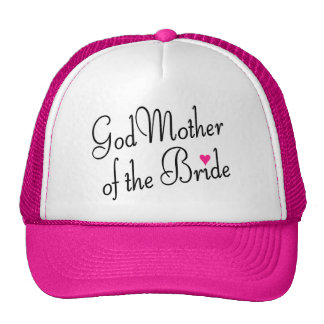 Godmother Of The Bride Mesh Hats