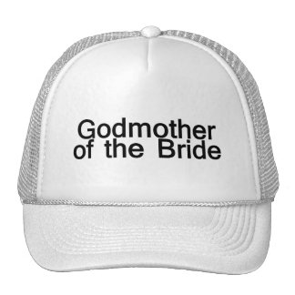 Godmother Of The Bride Trucker Hats