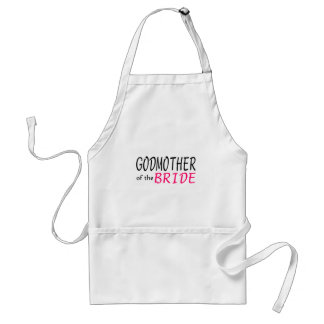 Godmother Of The Bride Standard Apron