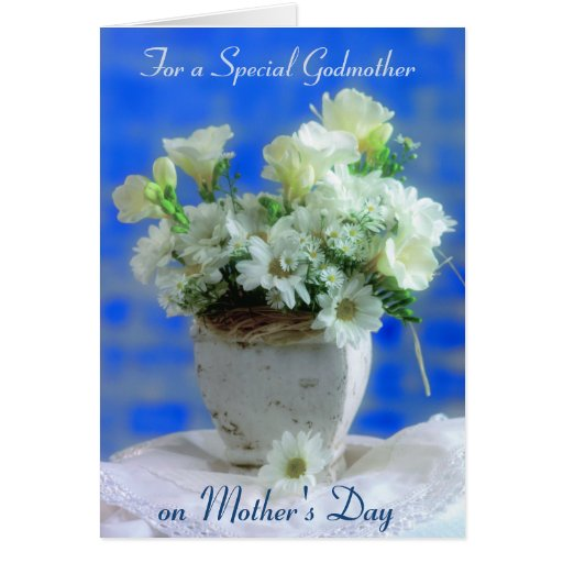 Godmother on Mother's Day Card
