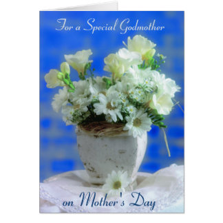 Godmother on Mother's Day Greeting Card