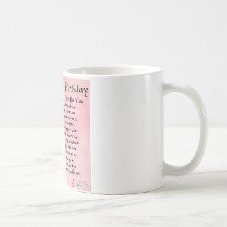 Godmother poem - 40th Birthday Design Coffee Mug
