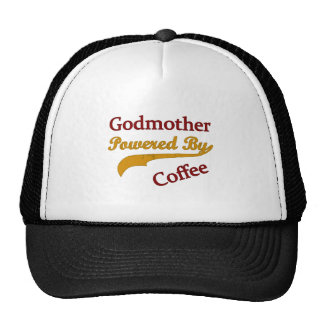Godmother Powered By Coffee Trucker Hats