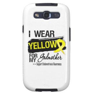 Godmother Yellow Ribbon Endometriosis Samsung Galaxy SIII Cases