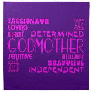 Godmothers Baptims Christening Parties : Qualities Napkin
