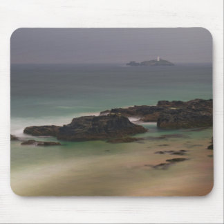 Godrevy Lighthouse, Cornwall, UK Mouse Mat