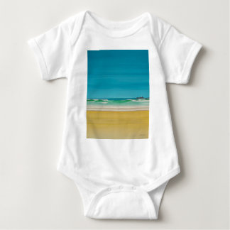 Godrevy Lighthouse (Gwithian) Baby Bodysuit