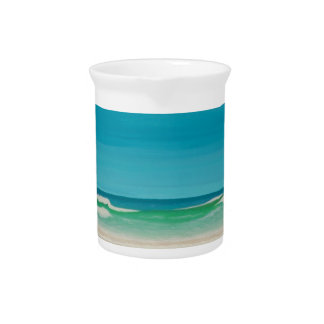 Godrevy Lighthouse (Gwithian) Beverage Pitcher
