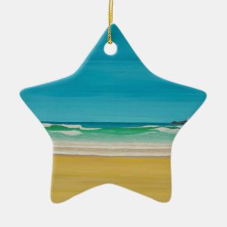 Godrevy Lighthouse (Gwithian) Christmas Ornament