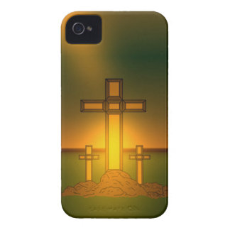 God's Aura Light over the Cross of Christ iPhone iPhone 4 Cover