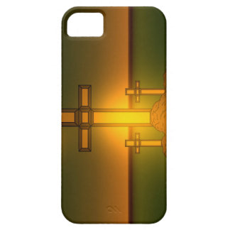 God's Aura Light over the Cross of Christ iPhone iPhone 5 Cover
