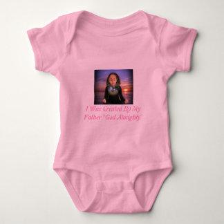 Gods baby sleepers shirts