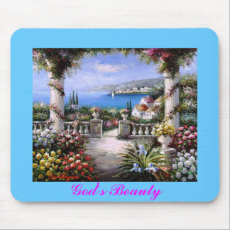 God's Beauty Mouse Mat