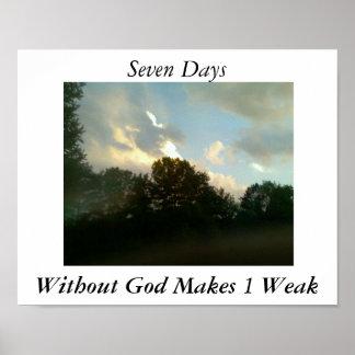 Gods Beauty Poster