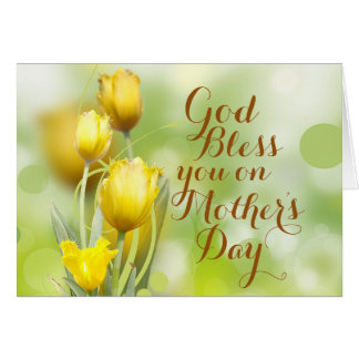 God's Blessing on Mother's Day, Bible Verse Greeting Card