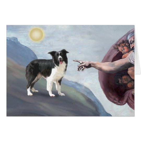 God's Border Collie (Z) Card