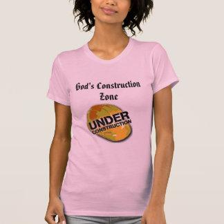 God's Construction Zone-Womens T-shirt