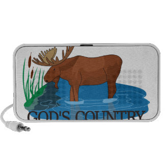 Gods Country iPhone Speaker