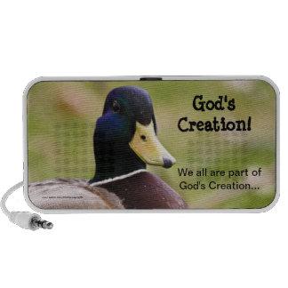 God's Creation Duck Doodle Speaker Case
