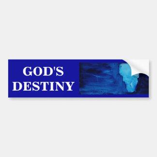 GOD'S DESTINY BUMPER STICKER