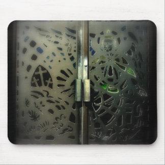 gods doors mouse pad