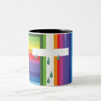 God's Eye Two-Tone Mug