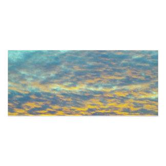 GOD'S Fingerprints in the Clouds Bookmark Rack Card