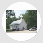 GOD'S FRONT PORCH CLASSIC ROUND STICKER